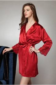 plus size silk robe 2018 wholesale plus size sexy satin robe for women sexiest lingerie