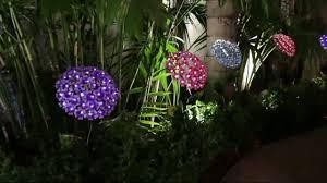 44 solar hydrangea decorative garden stake on qvc