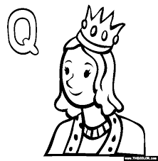 Small Picture Letter Q Coloring Pages Coloring Coloring Pages