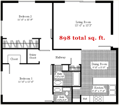 Units   University Housing   University of Nebraska Lincoln large  bd floor plan