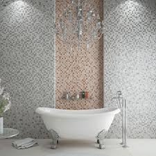 14 best grey mosaic tiles images on grey mosaic tiles cream mosaic bathroom tiles