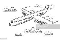Airplane Drawing 14 Best Airplane Drawing Images Airplane Drawing Airplane Art Planes