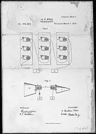 alexander graham bell  alexander graham bell s telephone patent drawing 7 1876