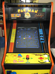 Arcade Cabinet Dimensions 1750 25th Anniversary Pacman Full Size Arcade Game Cabinet