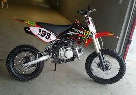 pit bike 140 cc monster ruote giganti 17 14 a catania kijiji