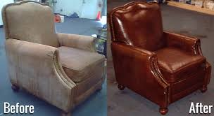 this is untrue there are many professionals who can repair torn leather some can do it so well that you won t even be able to tell
