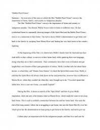 rabbit proof fence research paper zoom zoom