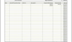 Business Check Register Template Printable Excel Sample Piliapp Co