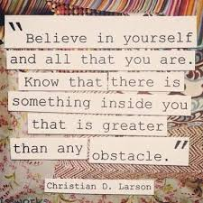 Quote On Believing In Yourself