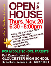 Middle School Open House Flyer Omfar Mcpgroup Co