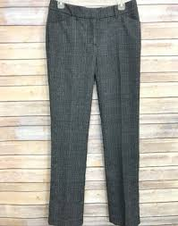 Maurices Pants Size Chart Nwt Maurices Womens Dress Pants Black Slim Boot Cut Size 5 6