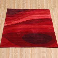 simple red kitchen rugs
