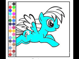 Small Picture My Little Pony Coloring Pages Games Coloring Pages For Kids
