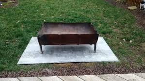 steel drum fire pit