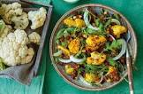 cauliflower and fennel salad