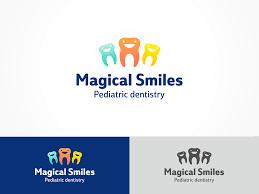 Design Dentistry Llc Dental Logo Design For Magical Smiles Pediatric Dentistry