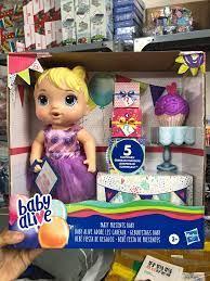 Búp bê Baby Alive dự tiệc sinh nhật   Babyponyshop