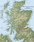 Image result for scotland map