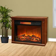 Amazoncom Lifesmart Easy Large Room Infrared Fireplace Includes Infrared Fireplace Heater
