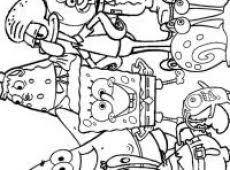 Spongebob Kleurplaat Zacov