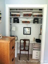 office in closet ideas. Office In Closet Ideas