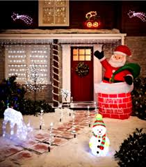 Best Outdoor Christmas Decorations For Outside Lights Fantasy Decoration  Homebnc ...