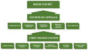 United States Court System Flow Chart Update A Brief Overview Of The Saudi Arabian Legal System