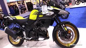 2018 suzuki vstrom.  vstrom 2018 suzuki vstrom 1000 xt  walkaround 2017 toronto motorcycle show in suzuki vstrom