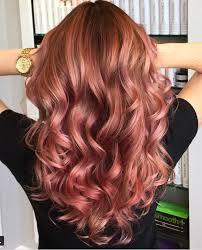 20 rose gold hair ideas