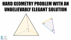 mind your decisions hard geometry problem unbelievably elegant solution