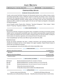 Real Estate Office Manager Resume Real Estate Resume Is Commonly