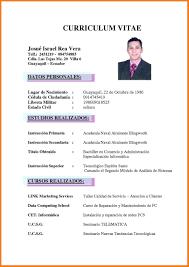 Curriculum Vitae Magnificent 48 Curriculum Vitae Word G Unitrecors Curriculum Vitae Best Resume