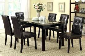 glass dining table set 6 chairs chair easy room