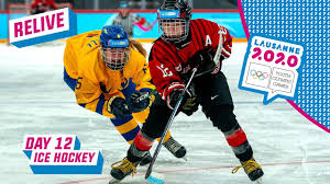 RELIVE - Ice Hockey - JAPAN vs SWEDEN - Women's Gold Medal Game - Day 12 |  Lausanne 2020 - YouTube