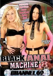 Black anal machine 8 adult dvd