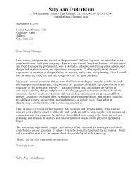 Process Engineer Cover Letter Sample Engineering Internship