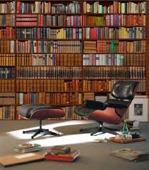 Home Library Old Vintage Home Library Design With Vintage Wooden Wall Bookcase
