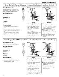 Bowflex Exercise Wall Chart Bowflex Blaze Workouts And Manual Bowflex Blaze Bowflex