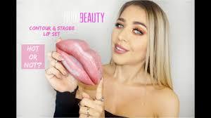 <b>Huda Beauty</b> Contour & Strobe <b>Lip Set</b> | Worth the Hype? | Ingrida G ...