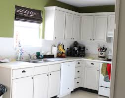 Simple Painting Oak Kitchen Cabinets White With Decorating
