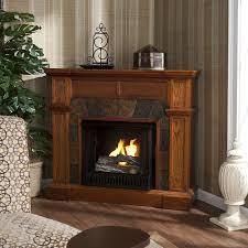 corner fireplace tv stand best on home and interior