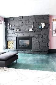 how to update a rock fireplace by using paint for interior brick uk best painted fireplaces