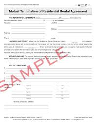 Residential Rental Agreement Amazing Wisconsin Legal Blank