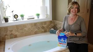 easy diy how to clean whirlpool tub jets don t look under the rug with amy bates you
