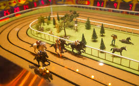 Wooden Horse Racing Game And they're off at the Sigma Derby horse race Las Vegas Review 41