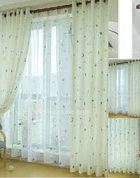 white jc penny curtains with dark extra long
