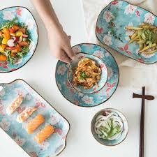 EECAMAIL Cherry Blossom Japanese style <b>Creative Ceramics</b> ...