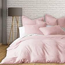 blush linen duvet cover. Exellent Cover New Season Home French Linen Duvet Cover Set King Blush 3 Piece With Blush R