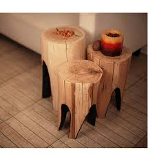 wood stump furniture. Full Size Of Furniture, Wood Stump Bedside Table Natural Tree Coffee With Furniture