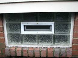 glass block windows basement making a coax window for my s net glass block basement windows
